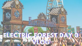 Electric Forest 2019 Day 0 Vlog | GA Early Arrival, Setting Up Camp, & RV Parties