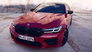 New BMW M5 (2020) Facelift - EXHAUST SOUND, Driving, Exterior, Interior & PRICE