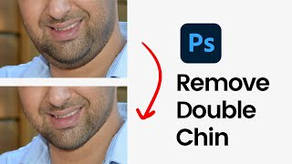 Remove Double Chin in Photoshop (Fast & Easy)