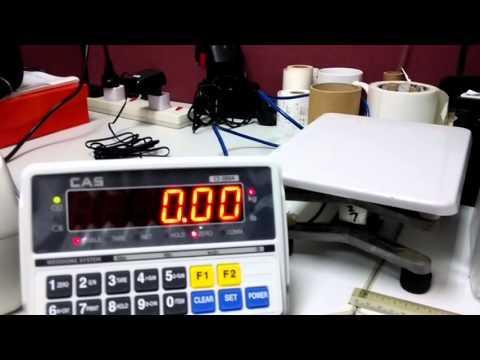 Cas test to Printer