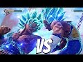 JUMP FORCE Goku SSB Kaioken vs Vegeta SSB 1vs1 Gameplay PS4 Pro
