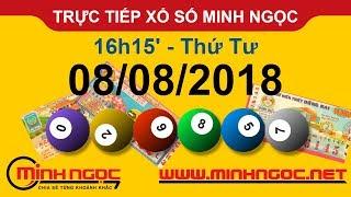 Xổ số Minh Ngọc™ Thứ 4 Ngày 08-08-2018 - Kênh chính thức từ Minhngoc.net.vn