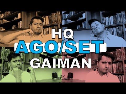 Leituras Agosto e Setembro 2017   Mistérios Divinos (HQ) - Neil Gaiman