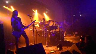 Absu - Highland tyrant attack live at Classic Grand Glasgow 12/12/2016