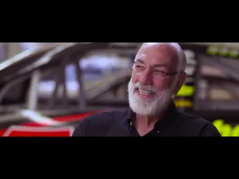 Furniture Row Racing's Barney Visser With Regan Smith of FS1 RaceHub