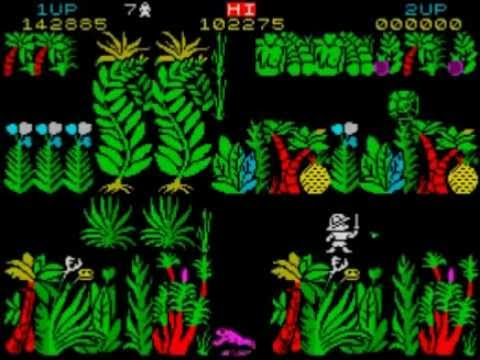 Sabre Wulf ZX Spectrum Walkthrough 100% Complete!