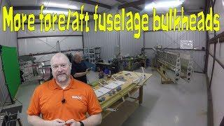 Center Fore Aft Bulkhead Work - RV-10