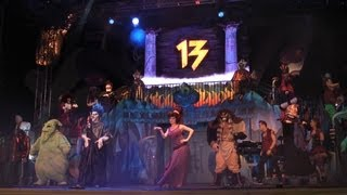 Unleash The Villains Full Intro For All 13 Disney Villains W/ Oogie Boogie, Megara, Front Row View