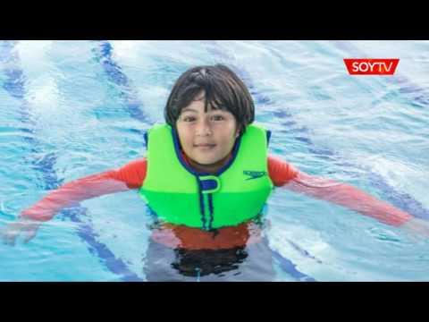 Niños al agua: ¿alitas o salvavidas?