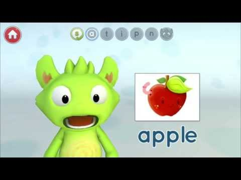 Screenshot of video: Phonics with Phonzy