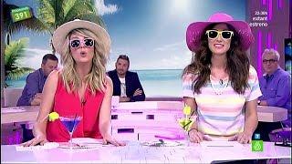 """Anna Simon Y Ana Morgade: """"Playas, Mojitos, Percebes Y, De Bolsos, Tres Loewes"""""""
