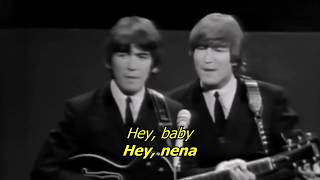 Kansas City/ Hey, hey, hey - The Beatles (LYRICS/LETRA) [Original]