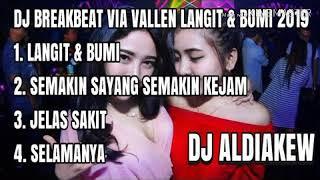 DJ VIA VALLEN LANGIT & BUMI REMIX DANGDUT PALING NGE-BASS 2019