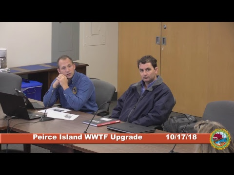 Peirce Island Waste Water Treatment Facility 10.17.2018