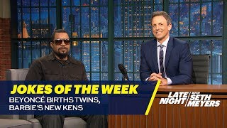 Seth's Favorite Jokes of the Week: Beyoncé Births Twins, Barbie's New Kens