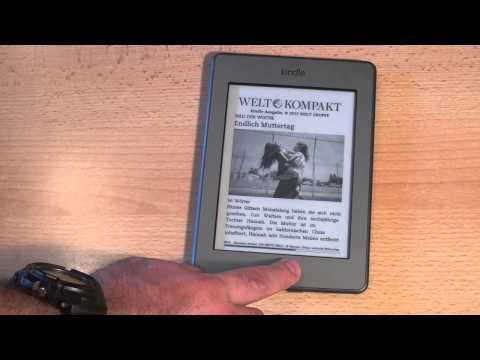 Test Amazon Kindle Touch eBook-Reader (Versionen WLAN und 3G): Caulius probiert es aus 18 (deutsch)