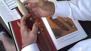 Steve Mantzouris talks about the Ivorite Micarta Randall all Purpose fighter knife