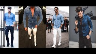 Latest Mens Jeans Shirt With Pant Style 2019 | Many Kind Of Mans Jeans Shirt Fashion 2019 | PBL