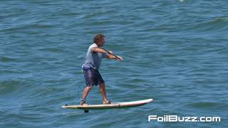 Foil Buzz Pro Tips:  Dave Kalama, Leash Preferences for SUPfoiling
