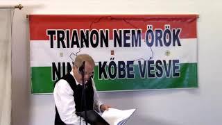 Patrubány Miklós novemberi nemzetpolitikai előadása: Trianon harmadik formája, a vírus