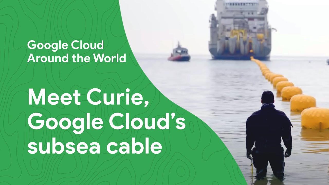 How much do you know about Google's infrastructure? What about our internet under the sea?  Follow a behind-the-scenes journey of our international private subsea cable – Curie. Named after the first female Nobel Prize winner, Marie Curie, the Curie subsea cable improves Google Cloud's network infrastructure by connecting Valparaiso, Chile with Los Angeles, California.