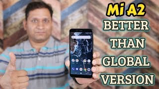 Mi A2 Unboxing & First Look Android One - 2 Years Android Update Guarantee