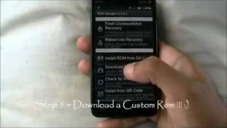 How To INSTALL A CUSTOM ROM + ROM Manager -