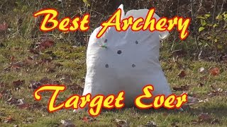 DIY Homemade Archery Target - Crazy Easy And Free