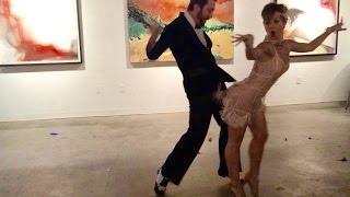 """A LITTLE PARTY NEVER KILLED NOBODY""  - Great Gatsby show dance Asiya Khasnutdinova & Matthew Gann"