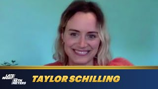 Taylor Schilling's Monsterland Makeup Gave Her Panic Attacks