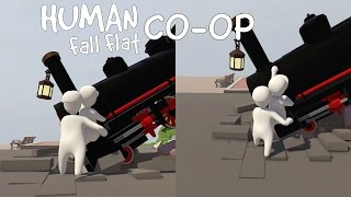 """Let's Play """"Human Fall Flat"""" CO-OP Mode!! (Part 1)"""