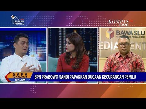 Dialog: Paparkan Dugaan Kecurangan Pemilu, Bpn Prabowo-Sandi Tolak Rekapitulasi [2]