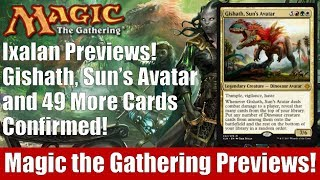 MTG Ixalan Previews! Gishath, Sun's Avatar and 49 More Cards Confirmed!