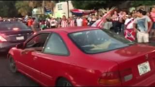 Así festejaron el triunfo de Las Chivas en La Paz