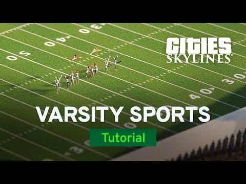 Cities: Skylines :: Campus Dev Diary #4: Varsity Sports