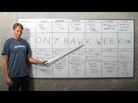 Introducing TONY HAWK WEEK At The Berrics