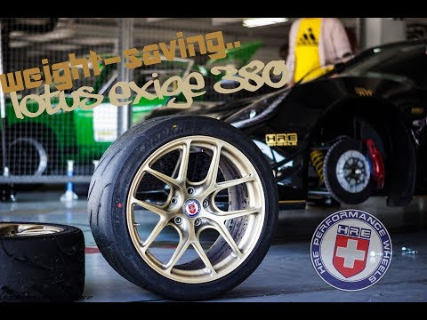 Save weight on your LOTUS EXIGE! HRE Wheels R101 | Laptime-Performance