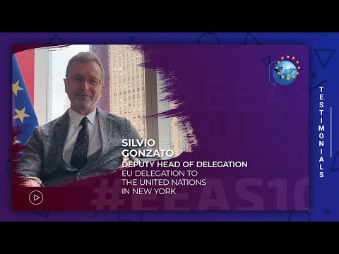EEAS10 Staff testimonial - Silvio Gonzato