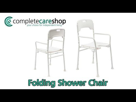 Folding Shower Chair - Light And Sturdy