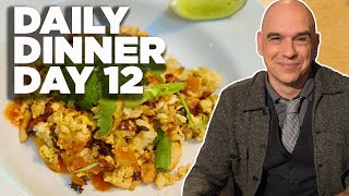 Cook Along With Michael Symon   Crispy Rice With Broccoli, Bacon & Cashews   Daily Dinner Day 12