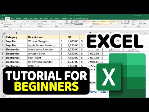 Beginner's Guide to Excel – Excel Basics Tutorial – [2018 Edition]