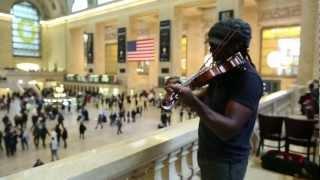 Dave Matthews Violinist Boyd Tinsley Serenades Grand Central Terminal