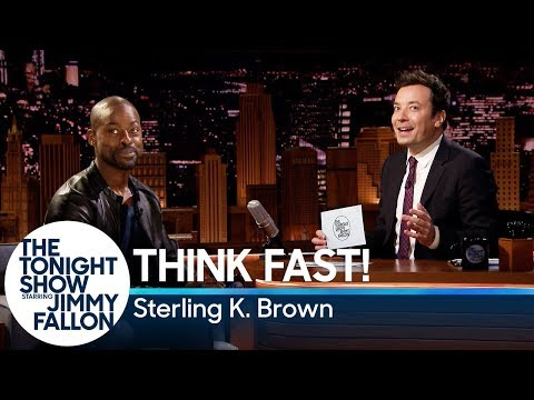 Think Fast! with Sterling K. Brown