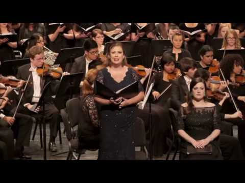 In performance, Verdi's Requiem