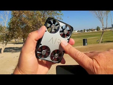 AirSelfie E03 Selfie 1080p HD Camera Drone Flight Test Review