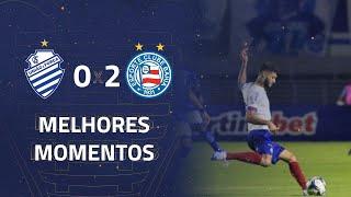 CSA 0 x 2 Bahia | Gols e Melhores Momentos | 5ª rodada | Copa do Nordeste 2020