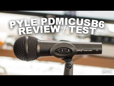 Pyle PDMICUSB6 USB Microphone Review / Test