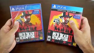 Unboxing - Red Dead Redemption 2 Special Edition VS Standard Edition
