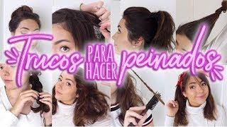 10 TRUCOS Para Hacer PEINADOS INCREÍBLES | HAIR HACKS 💕 Ekaty