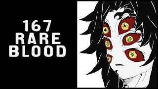 Sanemi Shinazugawa  - (Demon Slayer: Kimetsu no Yaiba) - Rare Blood | Kimetsu No Yaiba Chapter 167 Review